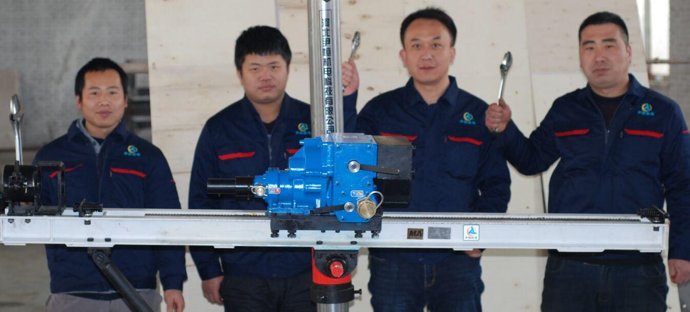 陕西客户相中尹恒ZQJC系列气动架柱凯发手机下载