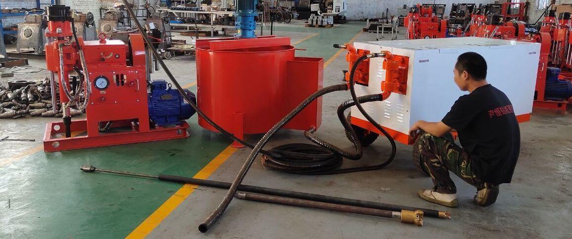 注浆泵混合器使用方法