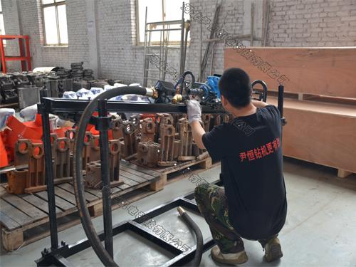 zqsj架座式手持140探水钻机