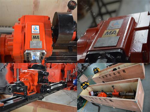ZQJC系列气动架柱钻机细节实拍