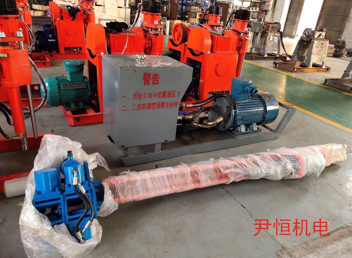 ZYJ架柱式液压回转探水钻机