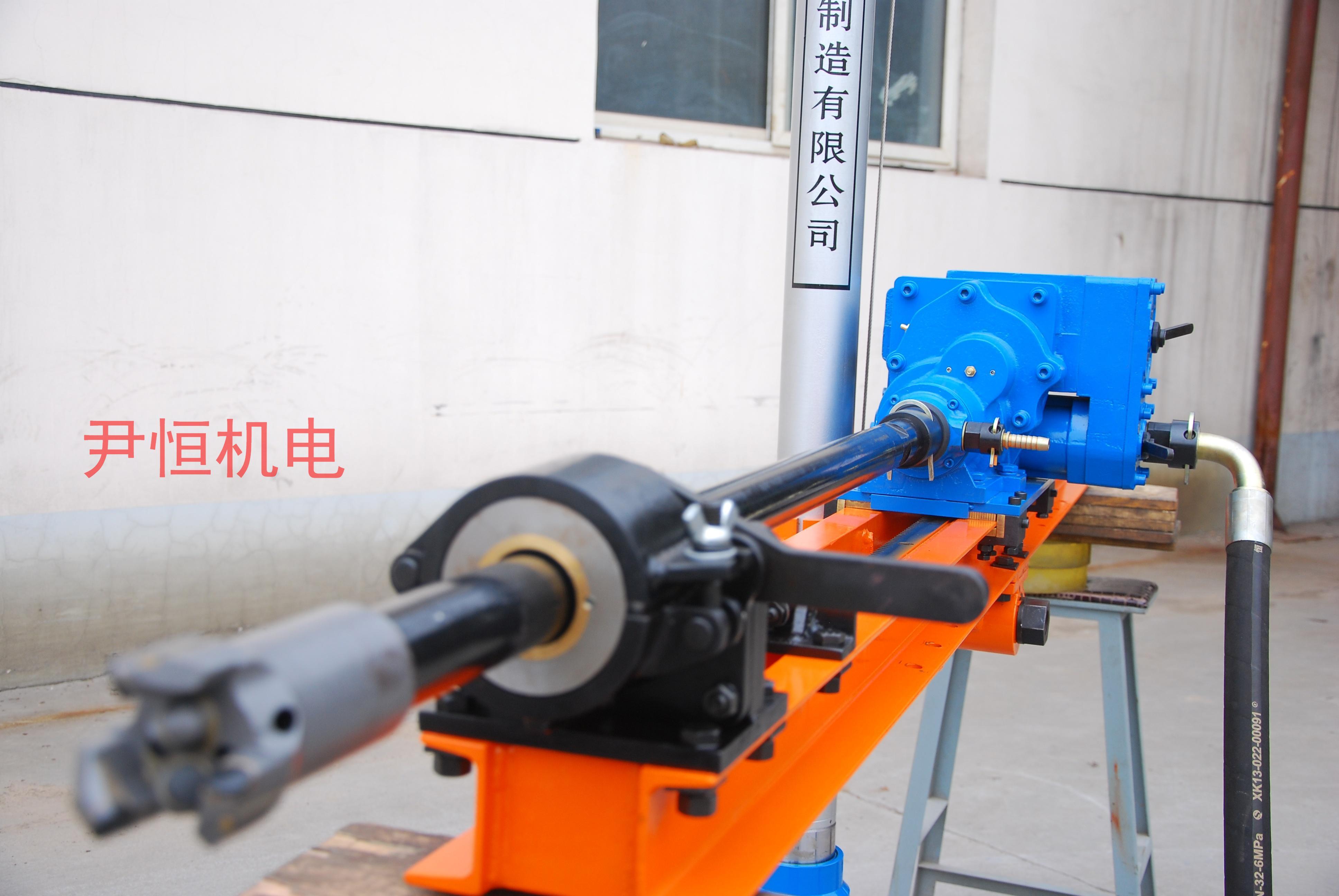 单立柱气动架柱式钻机